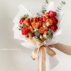 Premium Rose Bouquet Malaysia Best Affordable Flower Delivery Klang Valley Premium Rose Bouquet Gift