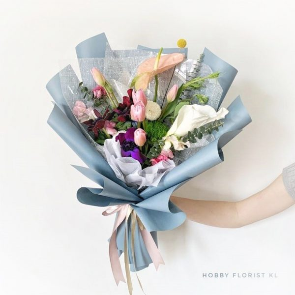 Premium Imported Holland Bouquet Malaysia Birthday and Anniversary Gift Malaysia