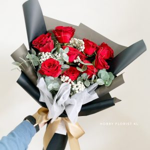 Layla Rose Bouquet for Anniversary gift and Birthday gift Malaysia