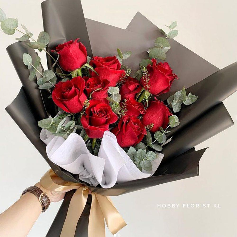 EXPLORER ROSE bouquet Anniversary Bouquet