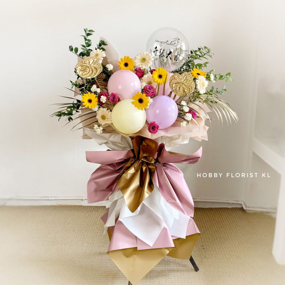 Kylie Flower Stand Business Opening Malaysia