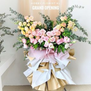 Josephine Flower Stand for Business Opening Malaysia