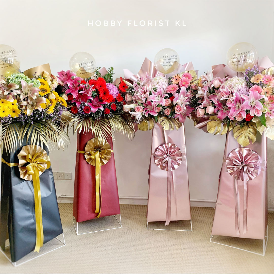Alexa Flower Stand for Business Opening Malaysia
