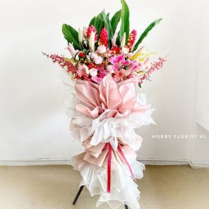 Corale Flower Stand Business Opening Malaysia Grand Business Opening