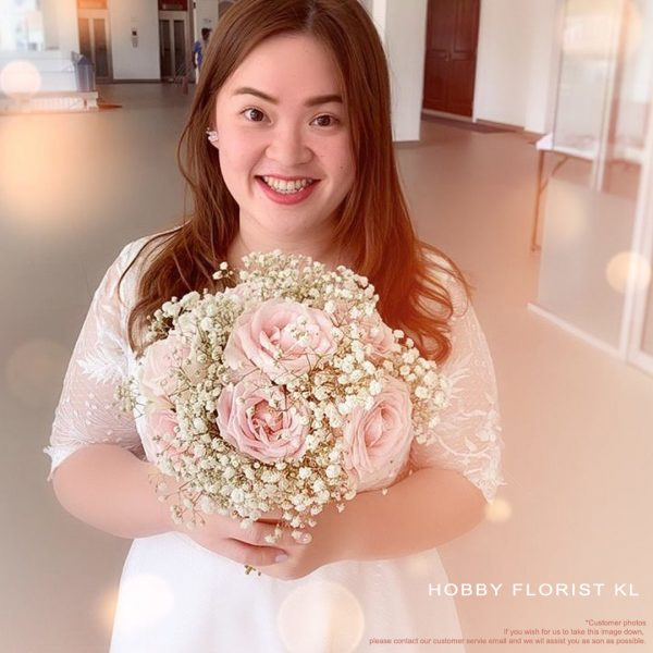 Samantha Rose Baby Breath for Wedding and ROMs Malaysia