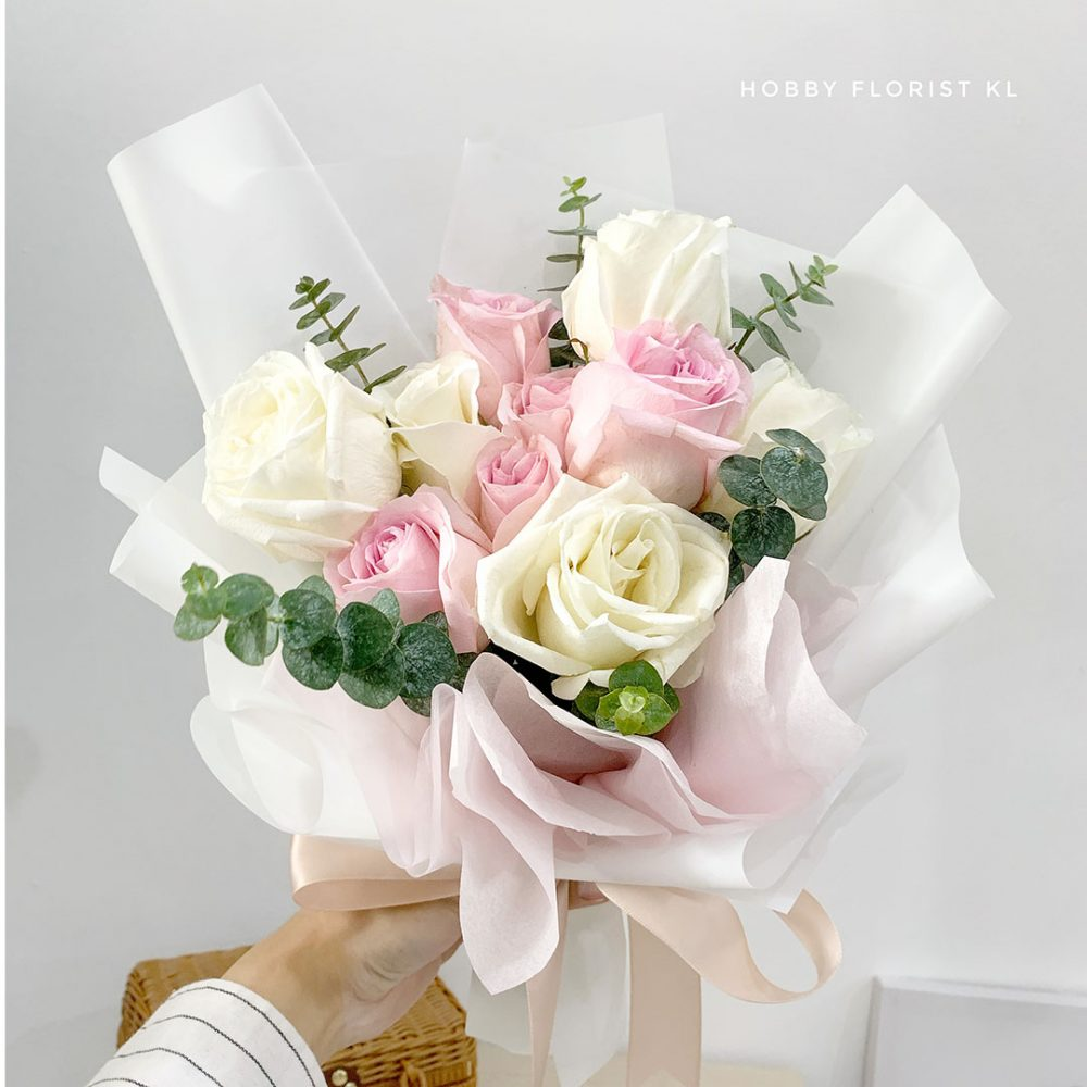 Adelaide Rose Bouquet Valentine's Day 2021 Malaysia
