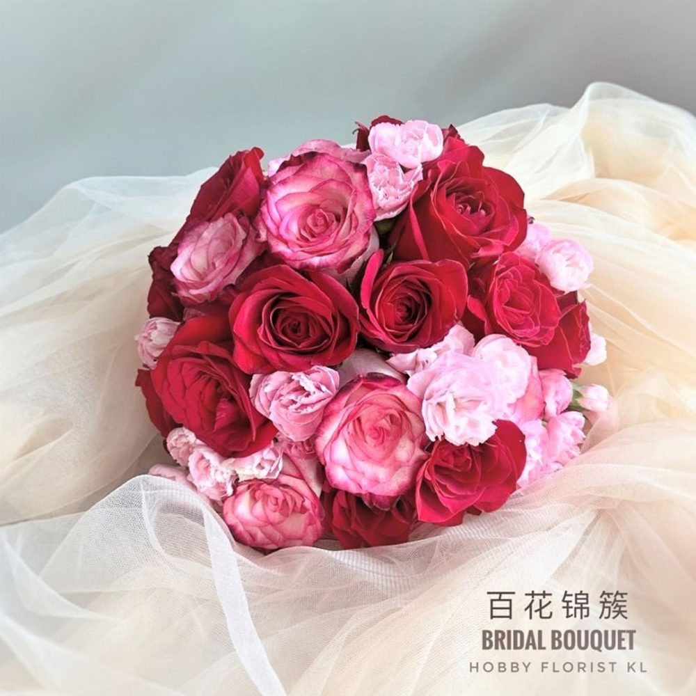 Ruby Bridal Bouquet for Wedding and ROM Malaysia