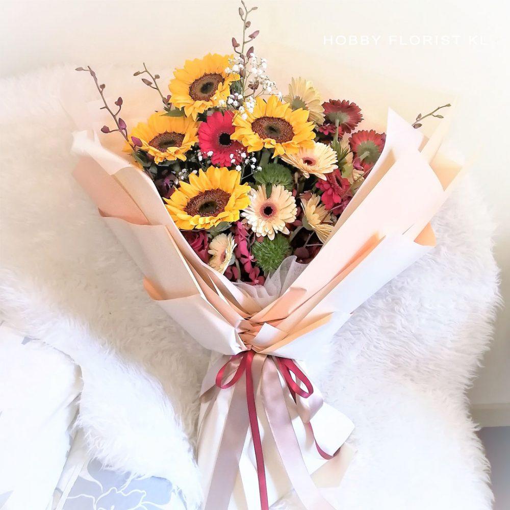XL Grad Sunflower Bouquet for Graduation Malaysia