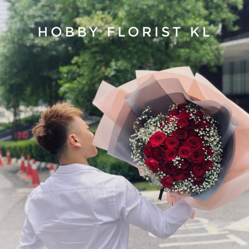 Marry Me Rose Bouquet for Proposal Bouquet Malaysia