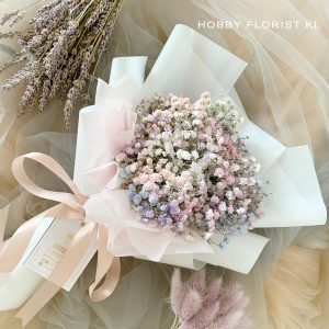 Celeste Baby Breath Bouquet for Birthday Bouquet KL Anniversary Bouquet KL