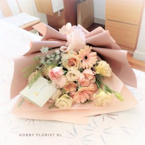 Belle Bouquet for Anniversary bouquet & Birthday Bouquet Malaysia