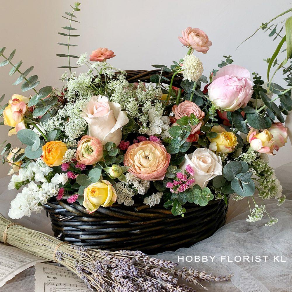 Illya Fresh Flower Basket