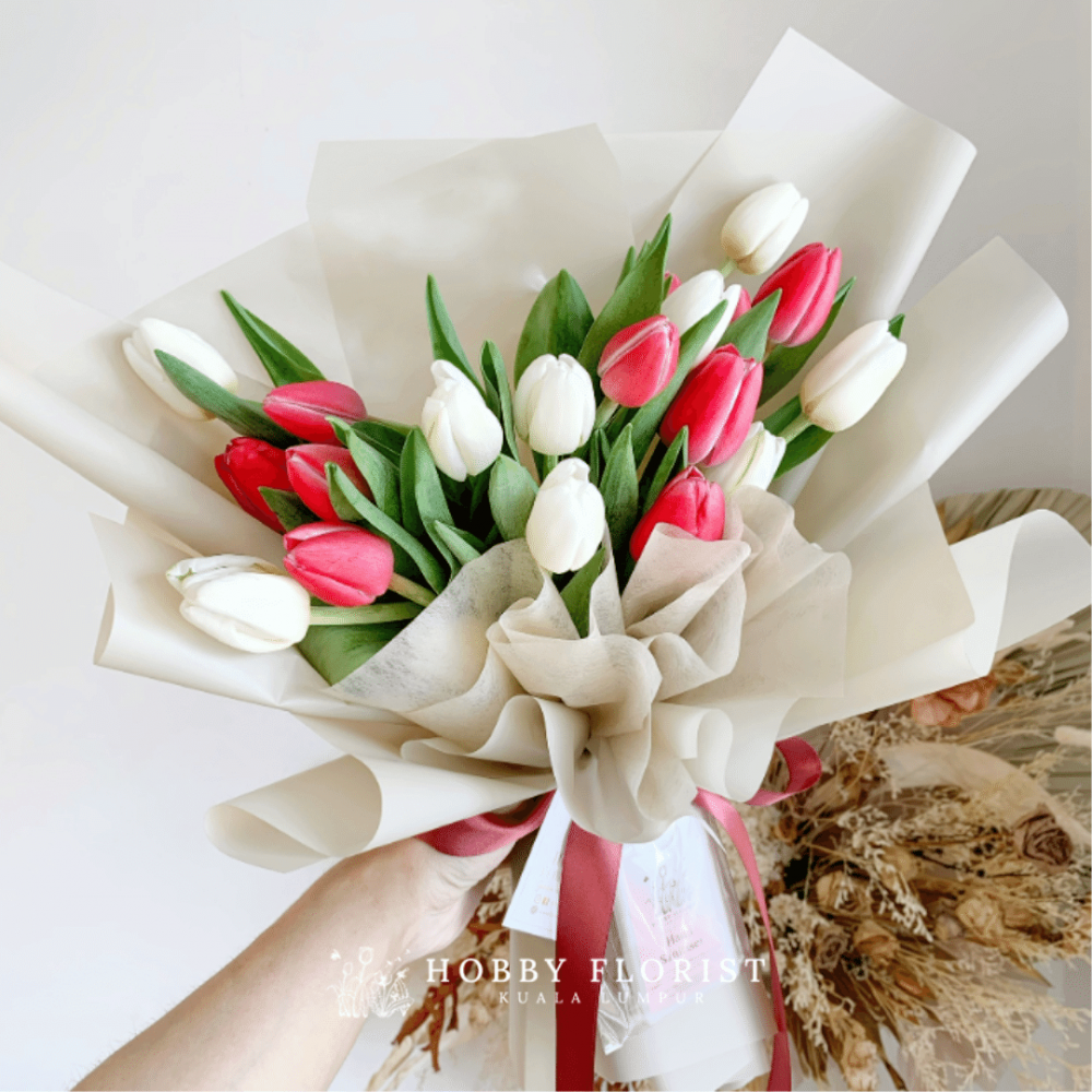 Shelly Tulip Bouquet