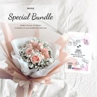 Rose Bouquet Malaysia Best Online Florist Kuala Lumpur Malaysia Premium Rose Bouquet KL Affordable Delivery Klang Valley Anniversary Bouquet KL Free Hand Sanitiser with Bouquet Purchase